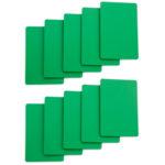 Cut Cards-Green Bridge Size
