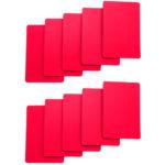 Cut Cards-Red Bridge Size