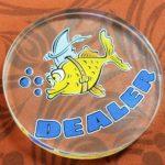Dealer Button - Custom Acrylic