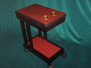 Drink Cart Wooden Laminate