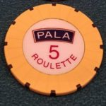 Pala Casino Chip