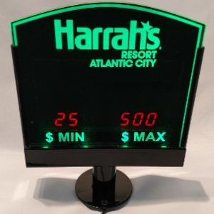 Table Limit Sign - LED